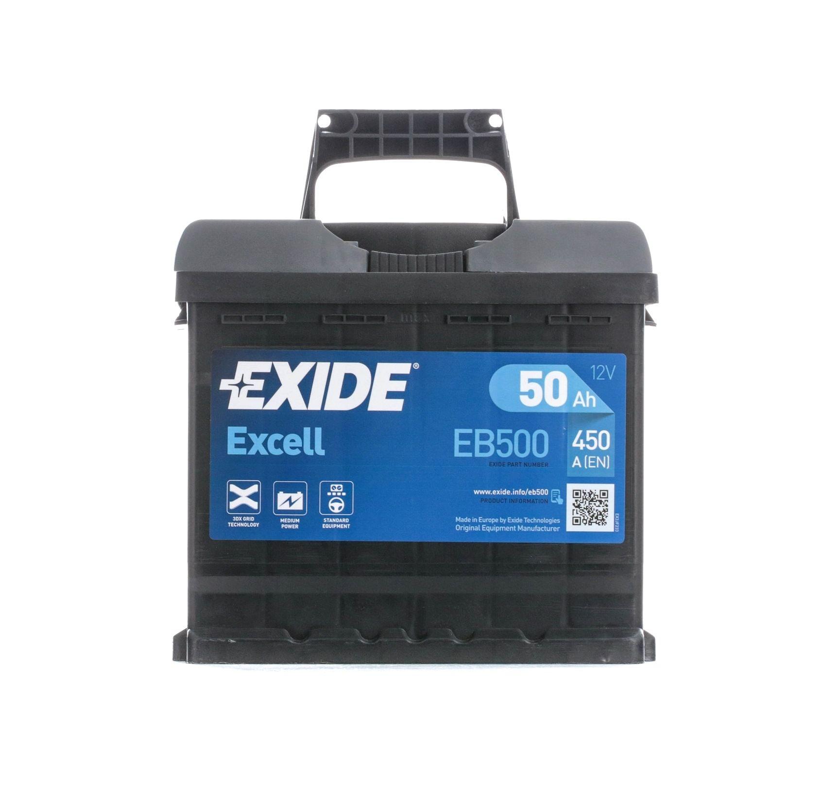 Original ALFA ROMEO Starterbatterie EB500