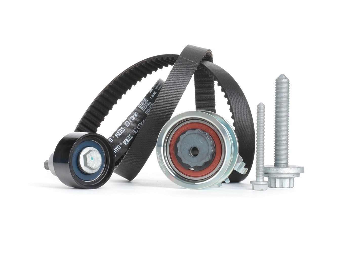Car spare parts VW POLO 2015: Timing Belt Set GATES K015680XS at a discount — buy now!