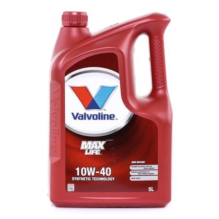 Qualitäts Öl von Valvoline 8710941009421 10W-40, 5l, Teilsynthetiköl