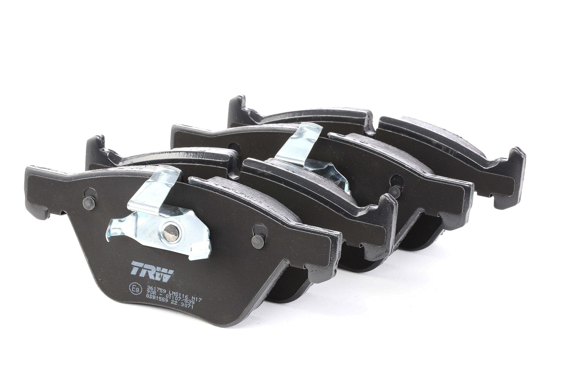 Комплект спирачно феродо, дискови спирачки GDB1559 купете онлайн денонощно