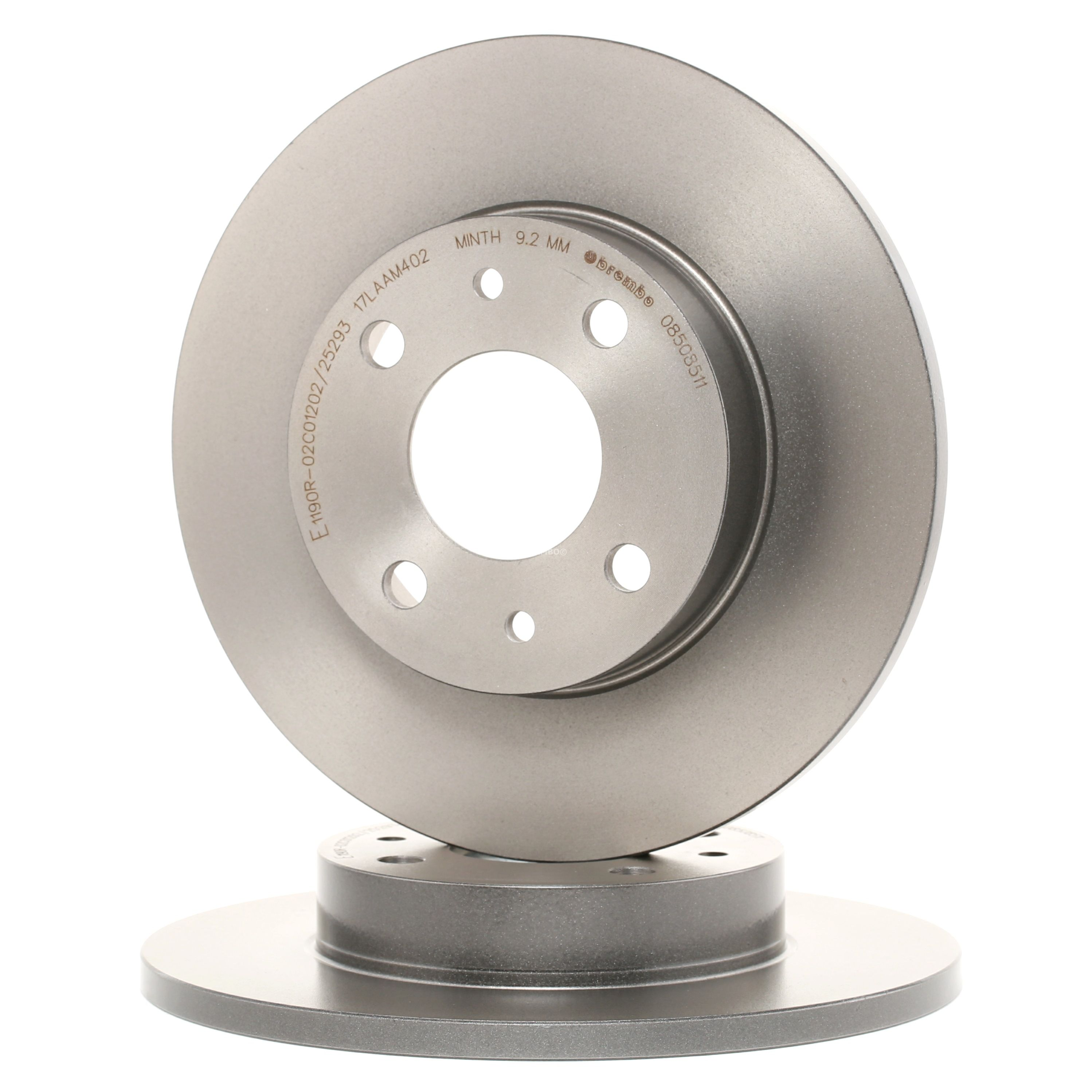Car spare parts ALFA ROMEO 145 1998: Brake Disc BREMBO 08.5085.11 at a discount — buy now!