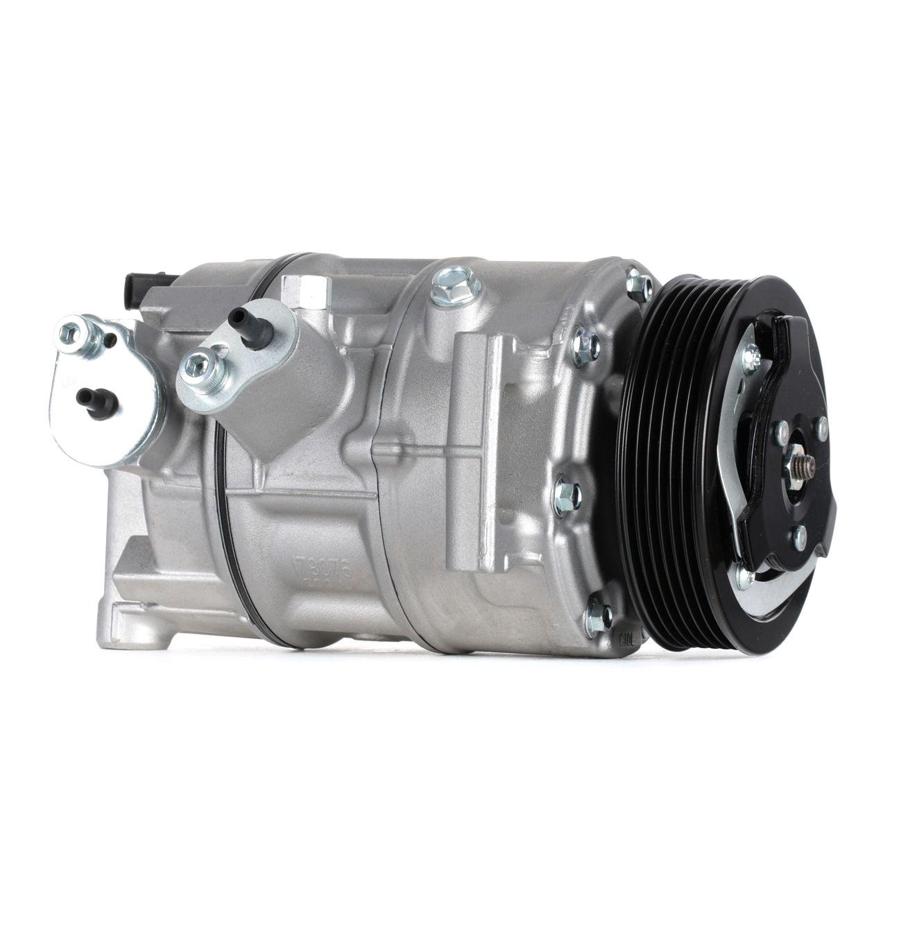 SKKM-0340119 STARK PAG 46, Kältemittel: R 134a, mit PAG-Kompressoröl Riemenscheiben-Ø: 110mm, Anzahl der Rillen: 6 Klimakompressor SKKM-0340119 günstig kaufen