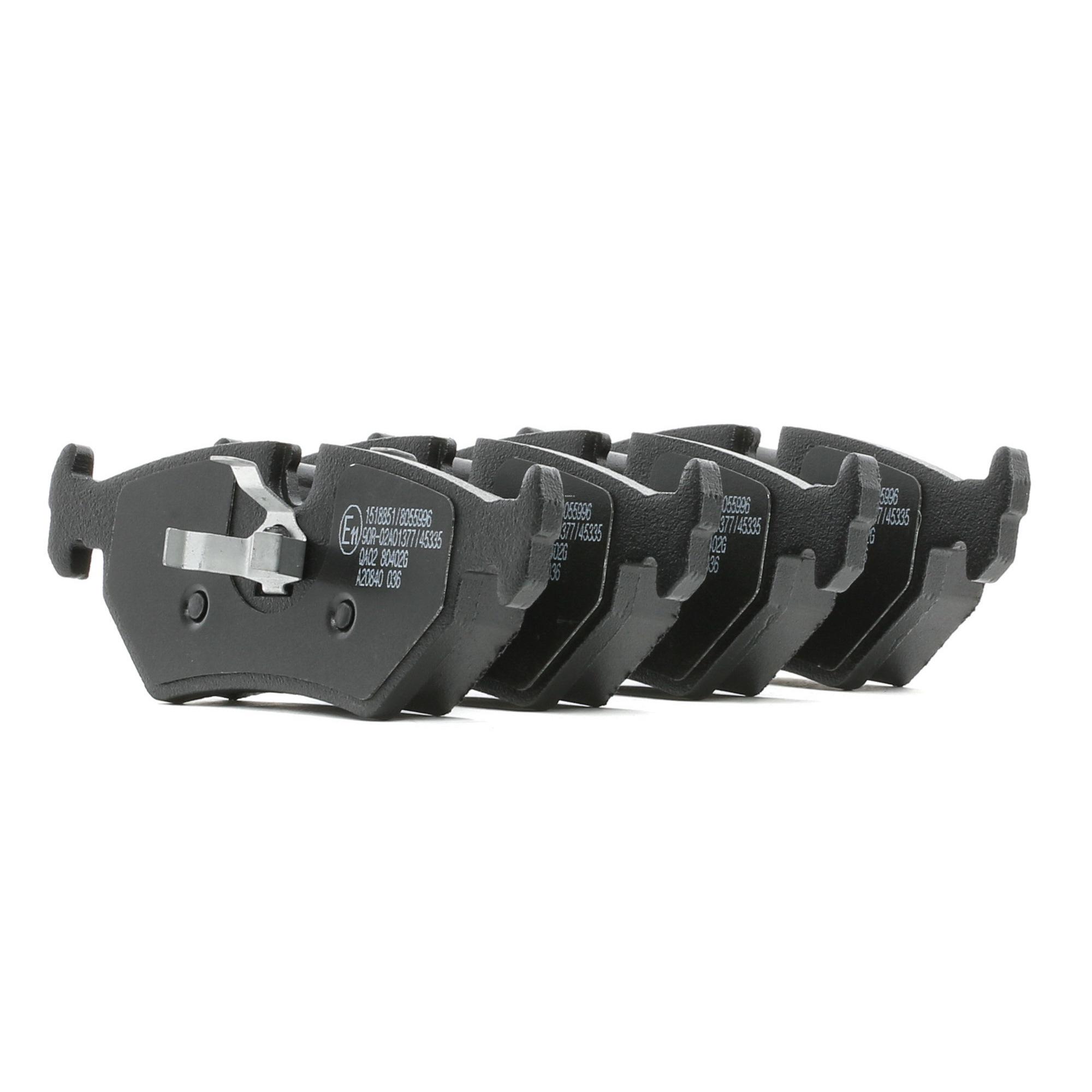 Buy original Brake pad set RIDEX 402B0889