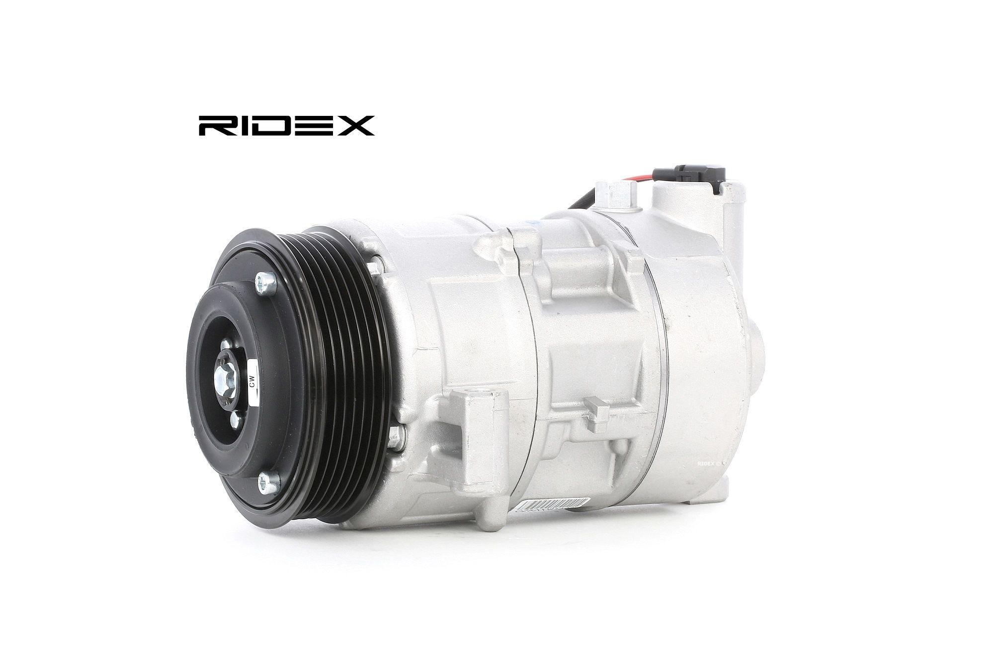 RIDEX: Original Kompressor Klimaanlage 447K0223 (Riemenscheiben-Ø: 100mm, Anzahl der Rillen: 6)