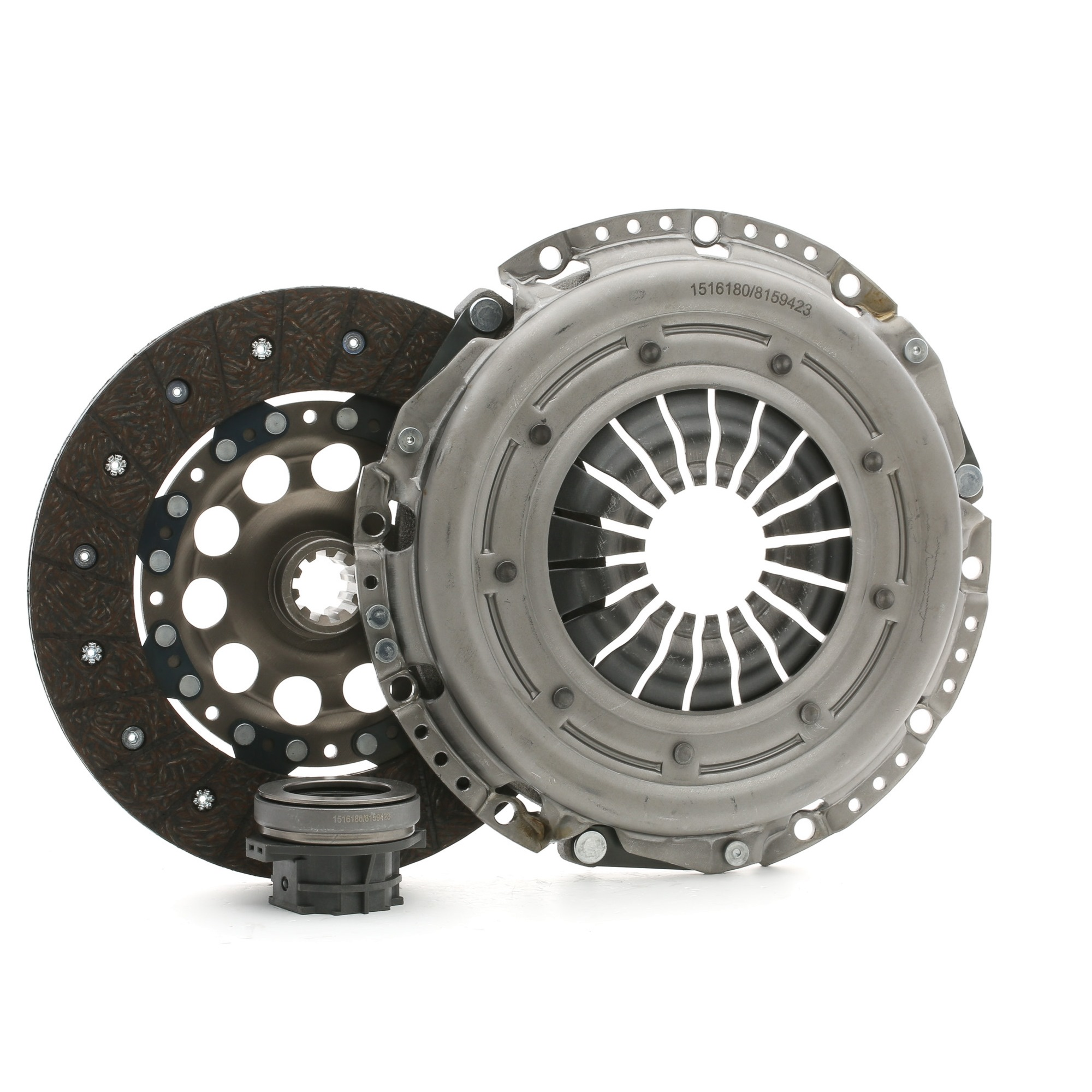 BMW Z3 2003 Clutch set RIDEX 479C0103: for engines with dual-mass flywheel, with clutch pressure plate, Check and replace dual-mass flywheel if necessary., with clutch disc