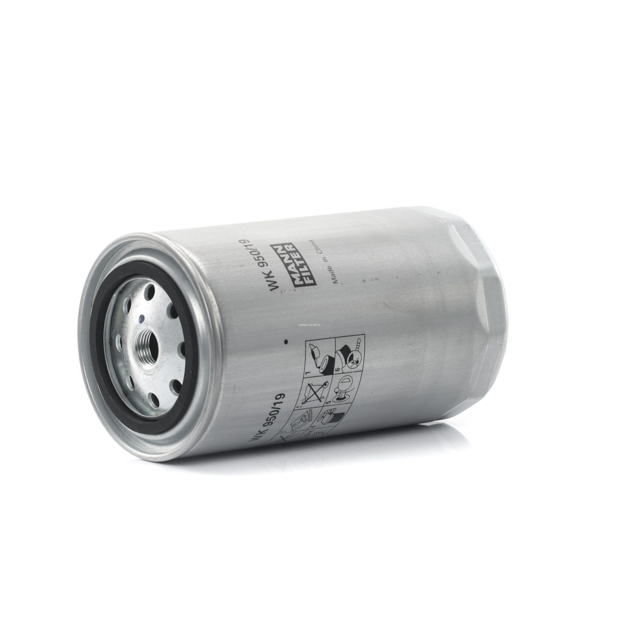 Filtro carburante WK 950/19 MANN-FILTER — Solo ricambi nuovi