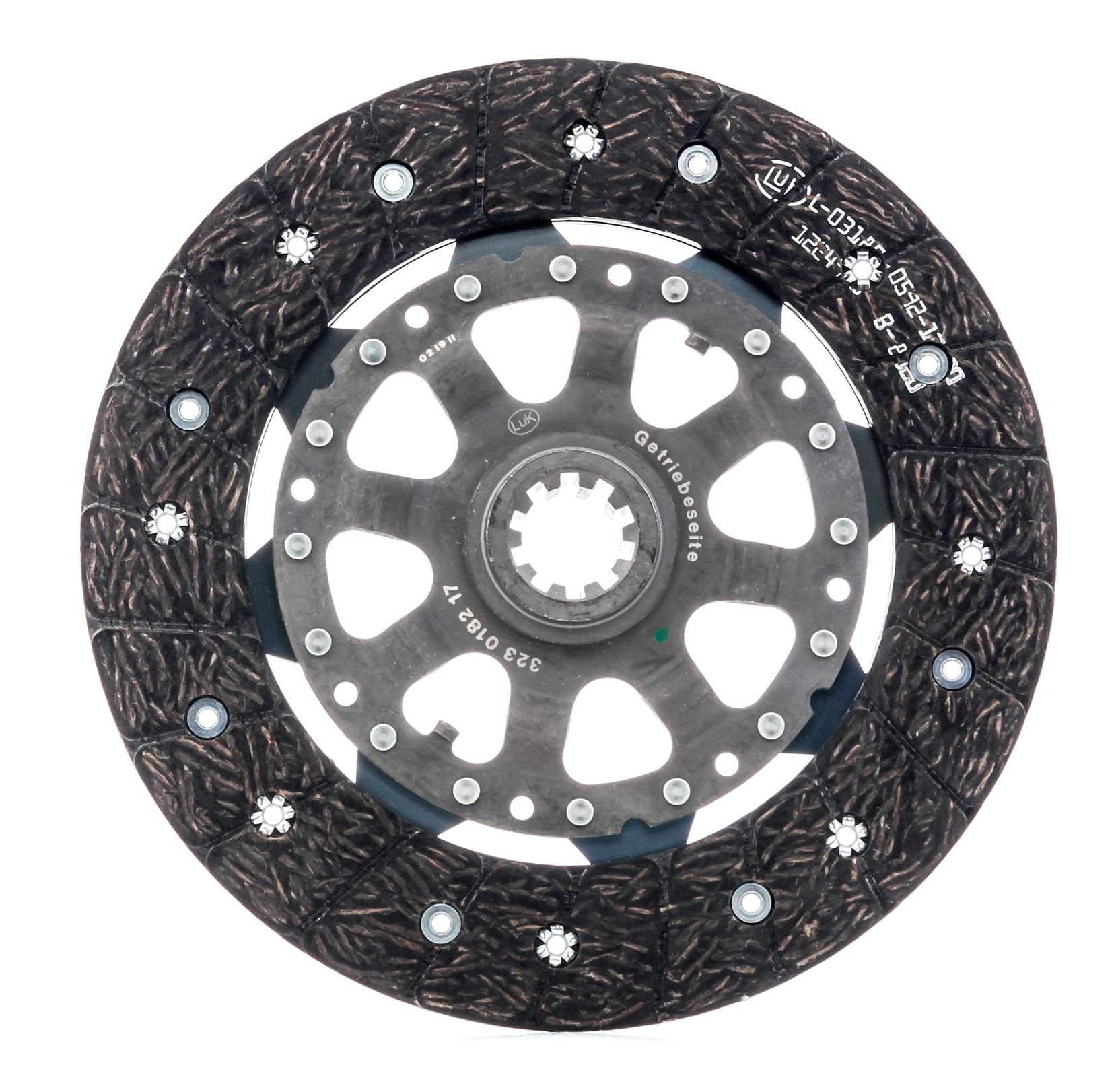 Clutch disc 323 0182 17 LuK — only new parts