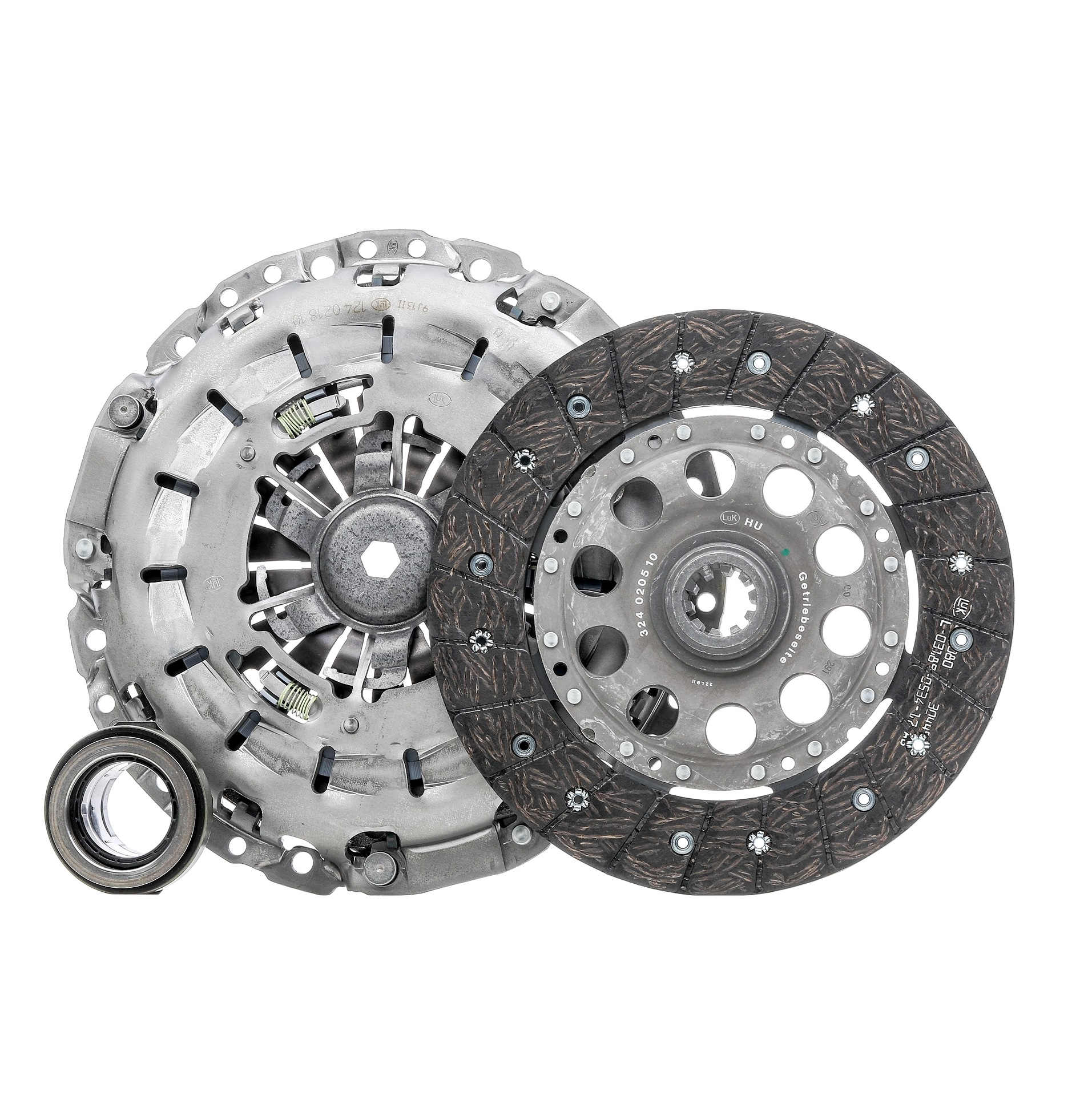 BMW Z3 1998 Clutch kit LuK 624 2333 00: for engines with dual-mass flywheel, Check and replace dual-mass flywheel if necessary., Requires special tools for mounting, with clutch release bearing